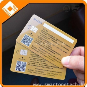 Plastic Card similar to Gold plated Master Credit VIP Card