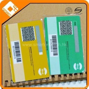 CR80 Matt finish PVC prepaid scratch card