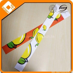 MIFARE Classic 1K colorful tyvek wristband paper bangle bracelet for event