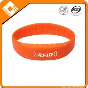 125KHz tk4100 Silicone rfid wristband