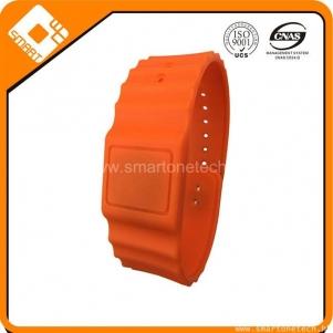 NTAG203 rfid silicone wristband