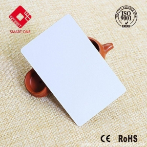 new white material  Blank can be personalize PVC Card