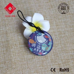 Reliable contactless glue epoxy card with tk4100 chip plastic keytag