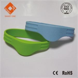 Cheap LF 125KHZ RFID wristband TK4100 EM4200 EM4305 silicone wristband/ Bracelet