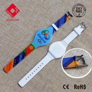 RFID Adjustable Sports Wristband Games Swimming Waterproof NFC Wristband