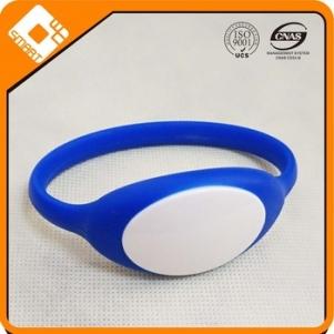 Rainbow Customized Full Color Printed Multi Sizes PVC Wristband