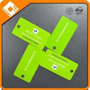 NFC paper tag plastic hang tag design