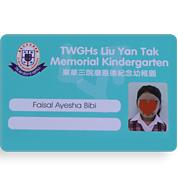 Plastic Student Card