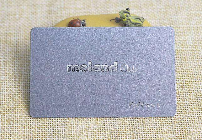 silver power pvc card