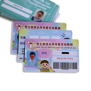 Customized Printing School PVC Student Barcode Card