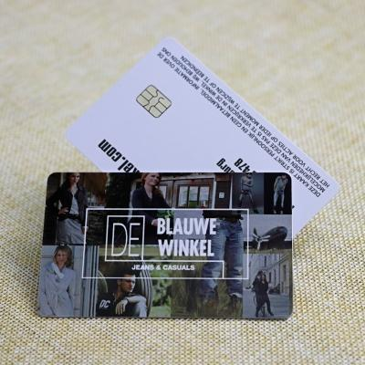 Clothing Shop Membership Smart IC Card With UV Laser Code