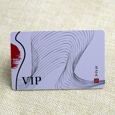 Custom Designed Contactless Stored Value Card With Smart Chips