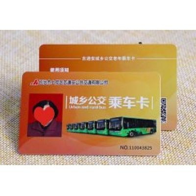 Contactless IC card for public transportation