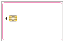 contact ic card template