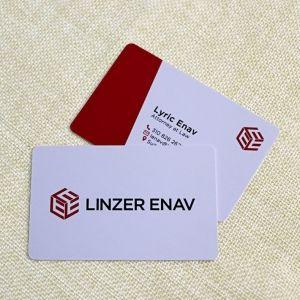 Custom Printing UV Glossy Finished Plastic Business Card