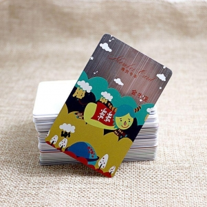 Personalized Designed Constellation Brushed PVC Card