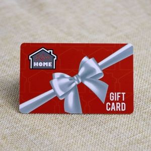 Glossy Finish Plastic Gift Card With UV Barcode