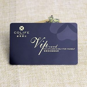 Hotel VIP Card Printed With Signature Panel