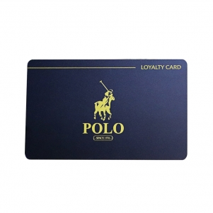 Custom Loyalty Card Printing With Gold Foil Stamping