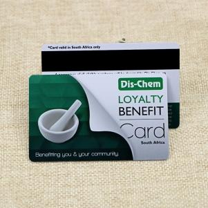 Customized Retail Pharmacy Plastic Loyalty Card