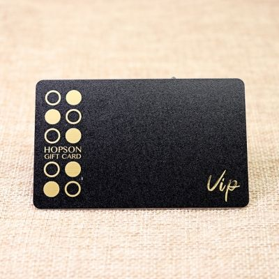 Mall Gift Card Printing With Frosted Finish