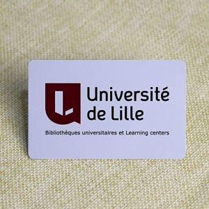 Custom Student ID Card Printing With Signature Panel