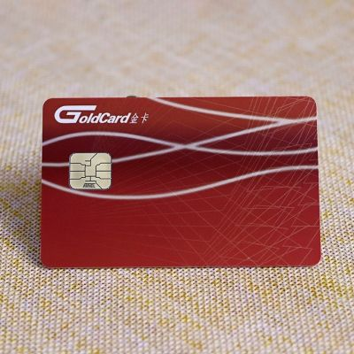 Gas Credit Cards With Contact Smart IC Chip