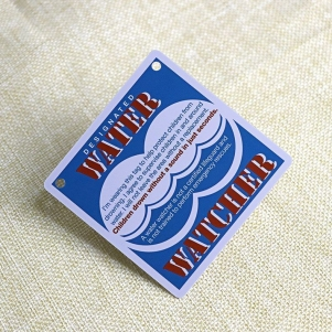 Square Employee Card For Water Watcher