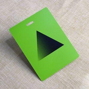Colorful Printable Die Cut Plastic ID Card