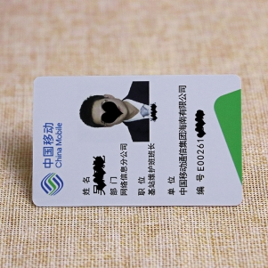 Plastic Employee ID Card For Access Control