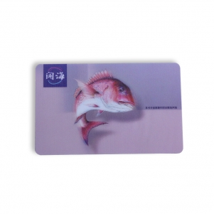 3D Gift Card Printing For Seafood Restaurant